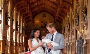 Меган Маркл опубликовала фото с принцем Гарри и их сыном в соцсетях