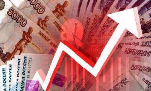 """В понедельник рубль """"умеренно укрепился"""""""