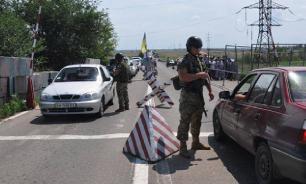 Гражданина России не пустили на Украину из-за георгиевской ленточки на чемодане