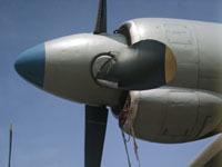 Ан-12 с горящим двигателем рухнул под Магаданом.