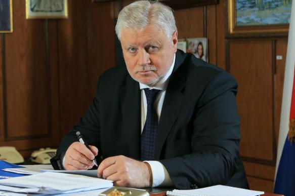 """Миронов: в ходе прямой линии будут затронуты проблемы бедности и """"мусорной реформы"""""""