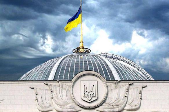 Верховная рада Украины рассмотрит закон об особом статусе Донбасса