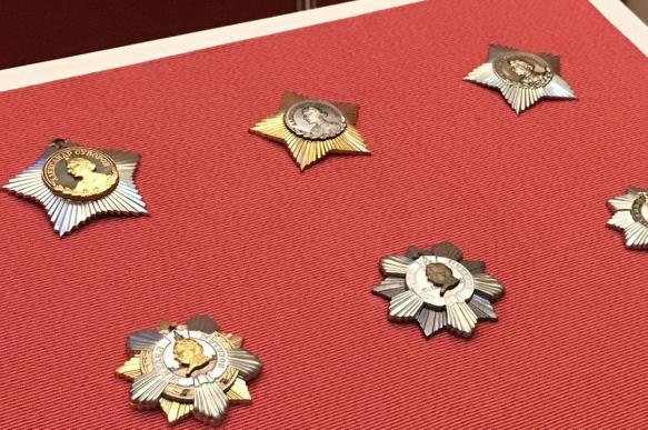 Русские полководцы на советских орденах