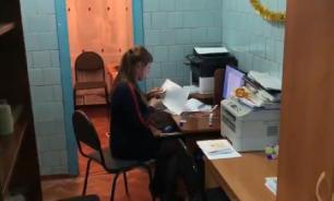 В красноярской школе туалет переоборудовали под учительскую
