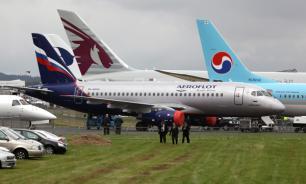 """СМИ: """"Аэрофлот"""" отменяет рейсы из-за технических неполадок """"Сухой Суперджет"""""""