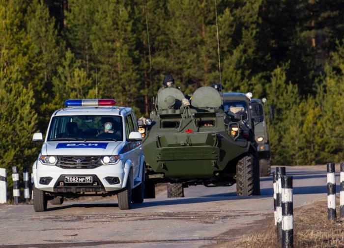 Белоруссия и Россия стягивают войска к общей границе