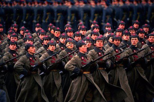 Коротко о Красной армии