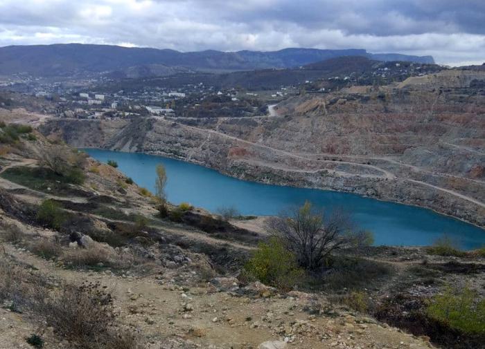 Симферопольское водохранилище критически истощено