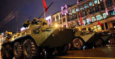 Следующую репетицию Парада Победы перенесли в Подмосковье