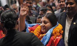 Бидхья Бандари - первая женщина-президент Непала