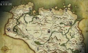 В украинском учебнике по географии оказалась карта из компьютерной игры