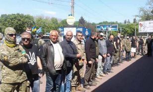 Украинские радикалы не пустили депутатов Рады на Куликово поле в Одессе