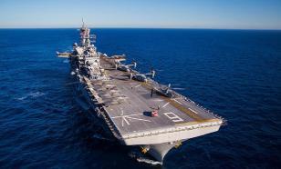 Американский флот сокращает свою активность из-за угрозы китам