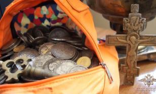 Аферисты продали жителю Красноярска бутафорский клад