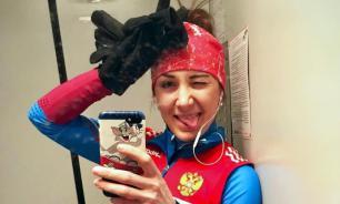 Биатлонистка Васильева, пропустившая три допинг-теста, не поедет на чемпионат мира