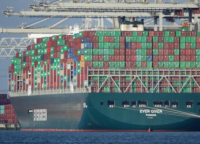 Суд Египта арестовал контейнеровоз Ever Given