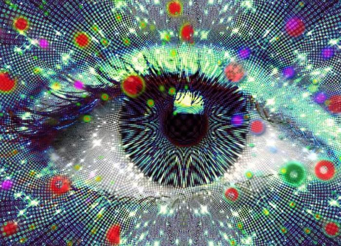 Искры из глаз: научное объяснение