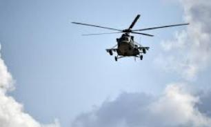 В Краснодарском крае разбился боевой вертолёт. Экипаж погиб