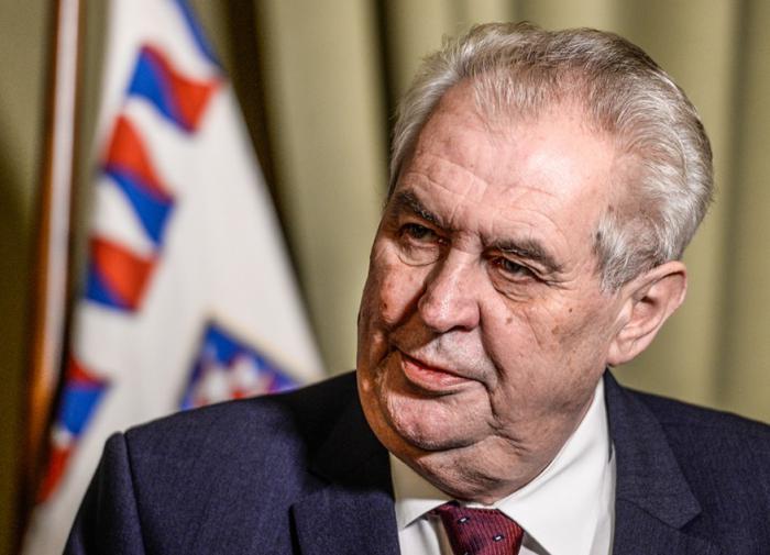 Denik N: у президента Чехии Земана может быть цирроз печени