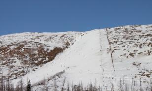 В Норильске запретили подъём на гору, с которой сошла лавина