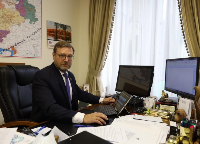 Константин Косачёв стал вице-спикером верхней палаты