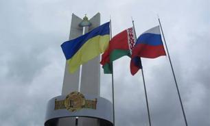 Бегуны из России, Украины и Белоруссии пробегут сотни километров навстречу друг другу