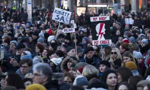 Протестующие против абортов в Польше: руководство страны - в отставку!