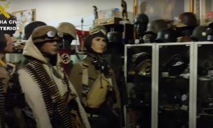 """Подпольный нацистский музей торговцев оружием """"накрыли"""" в Испании"""