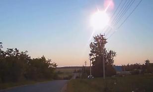 На Липецкую область упал неизвестный объект из космоса. Видео