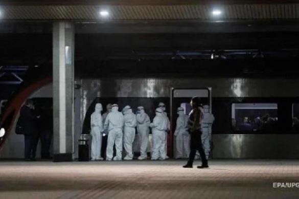 Из-за истерики в соцсетях в Киеве оцепили поезд из Риги