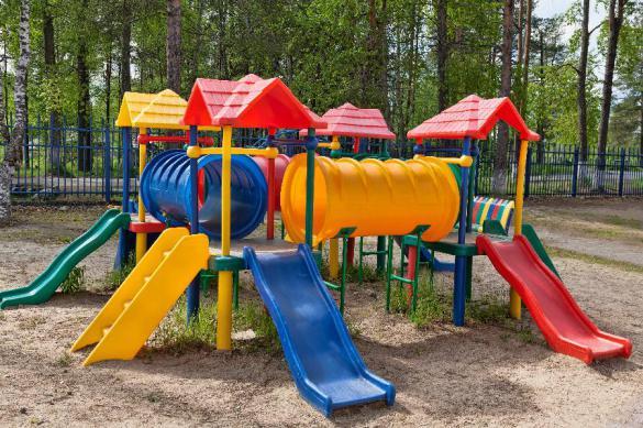 На Украине мужчина погиб после взрыва на детской площадке