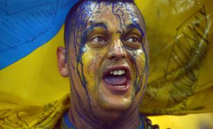 На Украине поражение сборной России отметили бесплатными такси и пивом