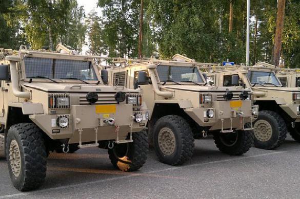 """Шведские военные просят вернуть очень """"ценный"""" броневик"""