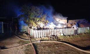 Трое детей и супруги-пенсионеры сгорели в частном доме в Саратовской области