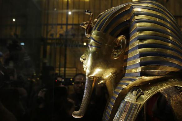 Ученые раскрыли тайну пятен в гробнице Тутанхамона