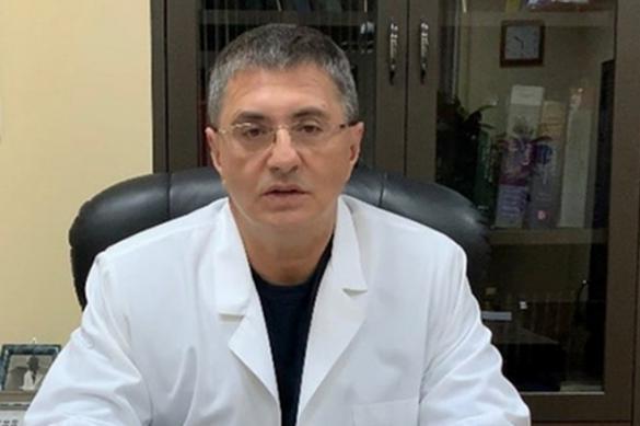 Доктор Мясников советует не ложиться в больницу с температурой
