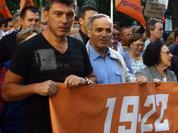 Каспаров на выход, Немцов - на вход