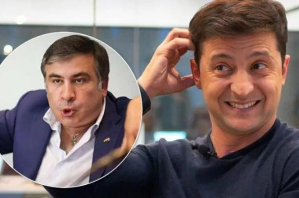 Пролез-таки во власть: Зеленский дал Саакашвили должность