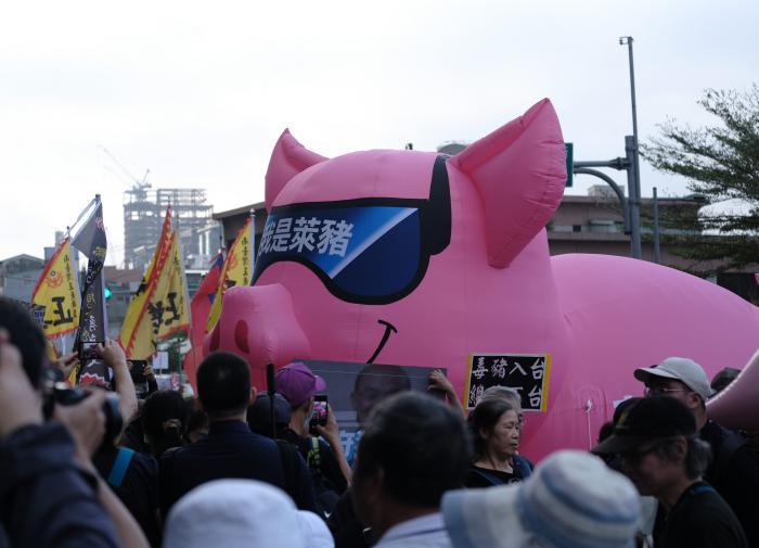 Тайваньские депутаты закидали председателя правительства потрохами