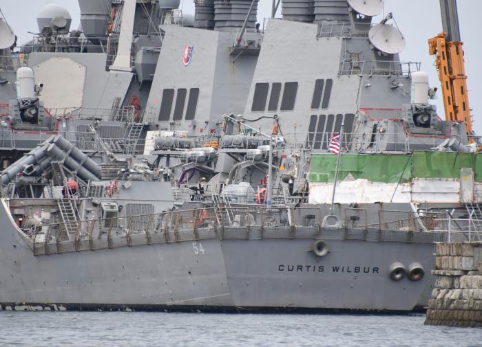 Эсминец США грубо нарушил китайский суверенитет