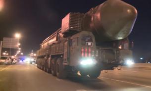 Колонна ядерных ПГРК «Ярс» шокировала водителей МКАДа