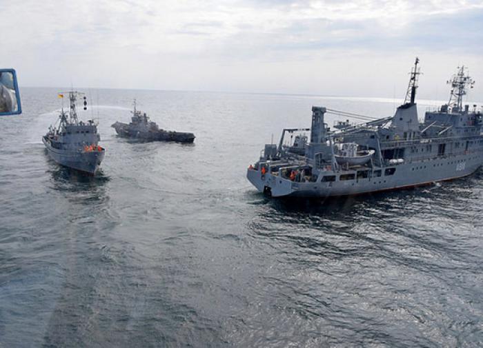 Украина внезапно начала военные учения в Чёрном море