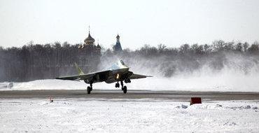 Т-50 совершил перелет с Дальнего Востока в Жуковский