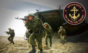 """Морская пехота: """"черный ужас"""" противника"""