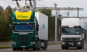 Автобан для фур на электротяге открылся в Германии