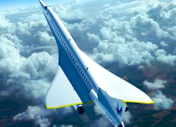 Компания Virgin Galactic представила проект сверхзвукового самолёта