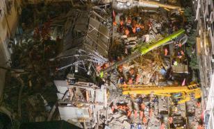 17 человек погибли под рухнувшими стенами отеля в Китае