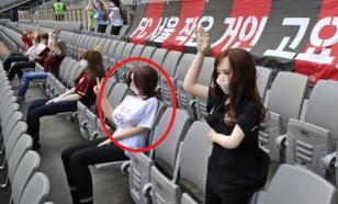 За футболистов в Корее болеют секс-куклы