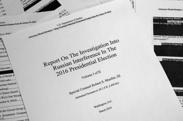 Белый дом: конгресс не увидит полную версию доклада Мюллера