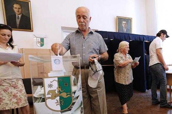 В Абхазии признали состоявшимися выборы главы государства